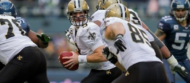 Drew Brees of the New Orleans Saints (Image Credit: Kelly Bailey/Flickr)