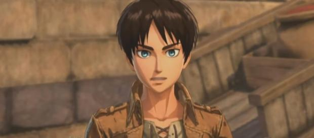Eren as he appears in Attack on Titan 2 game. Image Credit: Youtube/Anime Games Online
