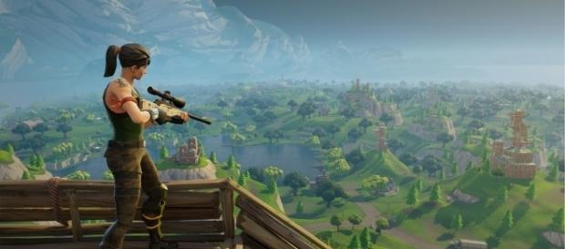 Fortnite's Battle Royale [Image Credit: via Fortnite/YouTube]