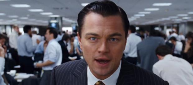 Leonardo DiCaprio em ''O Lobo de Wall Street''