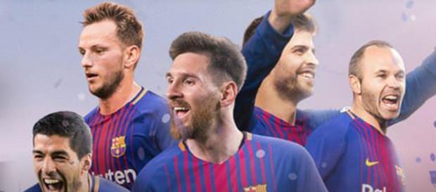 Maximas figuras del Barcelona año 2017