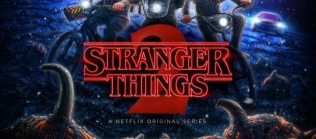 Poster promocional de la segunda temporada de Stranger Things