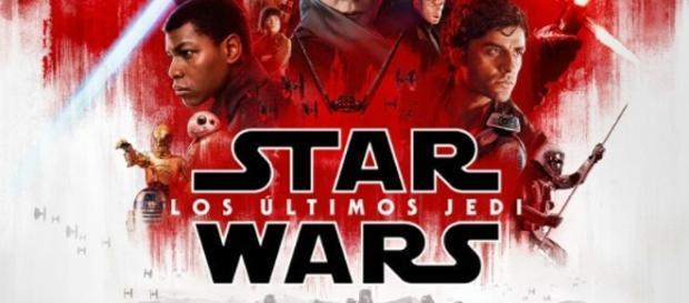 Star Wars, los últimos Jedi, en estreno.