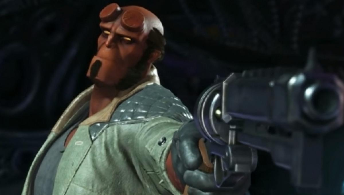 Injustice 2' update: Hellboy gameplay streamed and PC beta