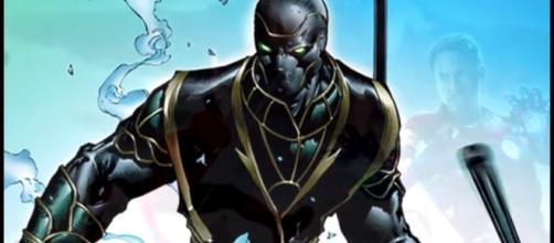'Avengers 4' look at elements of Ronin costume [Image Credit: ComicBookCast2/YouTube screencap]