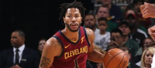 Derrick Rose prefers Cavs over Knicks - (Image Credit: Cavs/YouTube Screencap)