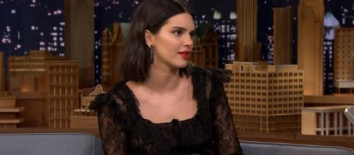 Kendall Jenner Reads a Letter She Wrote as a Teen Predicting Her Modeling Fame | Image Credit: The Tonight Show Starring Jimmy Fallon/YouTube