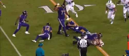 Kiko Alonso DIRTY Hit On Joe Flacco | Dolphins vs. Ravens | NFL Image credit Highlight Heave | YouTube