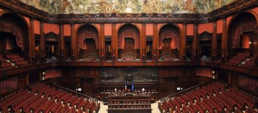 L'aula di Palazzo Montecitorio