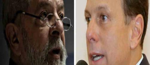Lula critica Doria e diz que sua candidatura não será prejudicada caso o prefeito de SP saia candidato