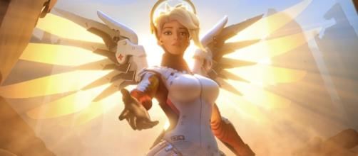 "Mercy's Resurrect ability is getting a nerf in ""Overwatch"" soon [Image via PlayOverwatch/YouTube]"