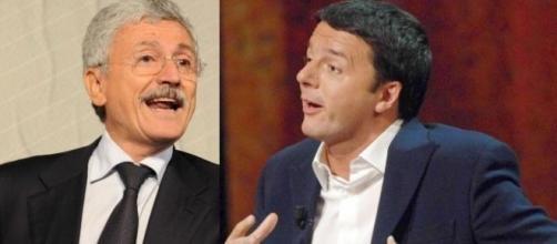 Nuovo attacco di Massimo D'Alema a Matteo Renzi dopo l'approvazione della legge elettorale