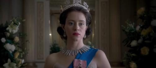 "Olivia Colman joins ""The Crown"" as the new Queen Elizabeth. [Image credit: THR News/YouTube]"