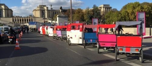 Paris: la police s'en prend aux tricycles touristiques ©Préfecture de Police