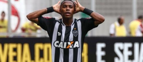 Robinho tem contrato com o Atlético-MG até o final deste ano