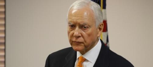 Sen. Orrin Hatch (R-UTAH) speaking at the third annual Orrin Hatch Economic Forum, 2011 / [Image credit: Michael Jolley/Flickr]