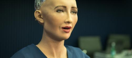 Sophia, the humanoid robot, has been granted Saudi Arabian citizenship. [image credit: ITU Pictures/Flickr]