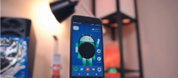 Android Oreo rolling out to Sony's Xperia XZ Premium--Image credit:Android Police/youtube screenshot