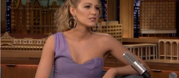Blake Lively gets her 'sweet revenge' on Ryan Reynolds' birthday. Image credit:The Tonight Show Starring Jimmy Fallon/YouTube screenshot