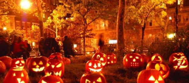 Le zucche, simbolo della festa di Halloween