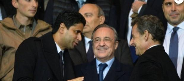 Nasser Al Khelaïfi et Florentino Perez, présidents respectivement ... - purepeople.com