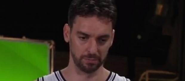 Pau Gasol tallied 13 points in their 117-100 win over the Miami Heat [Image credit: Harland Kremer/YouTube]