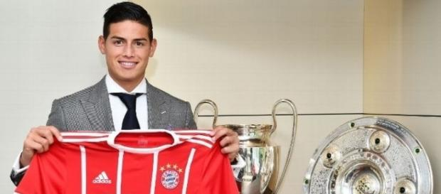 Source: http://www.espnfc.com/story/3156585/james-rodriguez-im-here-to-win-titles-and-improve-bayern-munich