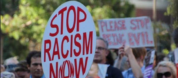 Stop Racism Now - Image credit Takver | Flickr