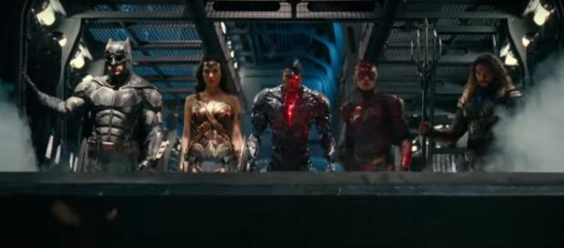 The Justice League. (Image credit: Warner Bros. Studio/Youtube screencap)