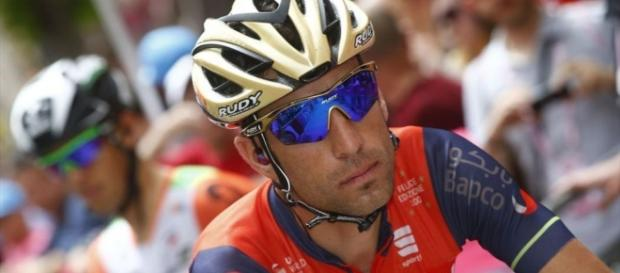 Vincenzo Nibali, corridore della Bahrain Merida