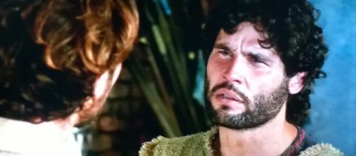 Asher conversa com Zac (Foto: Reprodução/Record TV)