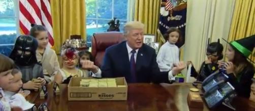 Donald Trump Halloween, via Twitter