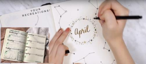 How to Start a Gratitude Journal. [Image Credit: AmandaRachLee/YouTube]
