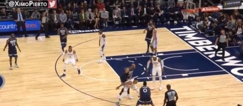 NBA: (Image Credit: Real Ximo Pierto/Youtube screencap)