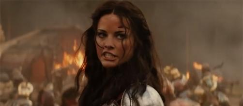 """Jaimie Alexander played Lady Sif in """"Thor"""" and """"Thor: The Dark World."""" [Image credit: trailerspot/YouTube screencap]"""