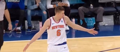 Kristaps Porzingis dropped 31 points to lead the Knicks past the Nets -- Real GD's Latest Highlights via YouTube