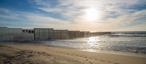 Mexico - US Pacific Ocean Border Fence. (Image credit:Tony Webster/Wikimedia Commons)