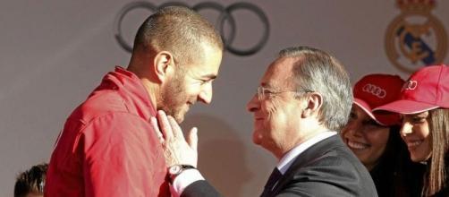 Real Madrid: Florentino quiere a Benzema siempre a su lado | Marca.com - marca.com