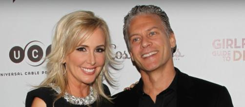 Shannon Beador and David Beador [Image by E! News/YouTube screencap]
