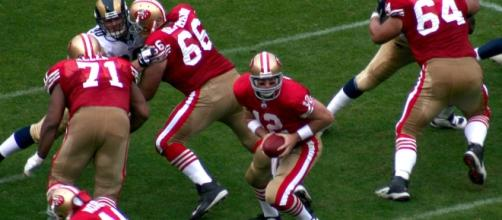 The 49ers just need to keep playing. (Image via John Martinez Pavilga/Wikimedia Commons)