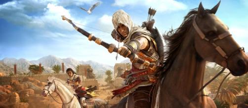 Un'immagine di Assassin's Creed: Origins con Bayer e Aya