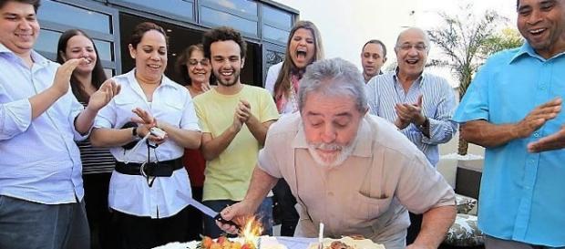 Aniversário do ex-presidente Lula