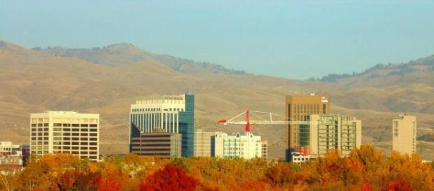 Beautiful scenery overlooking Boise, Idaho. - Wikimedia Commons