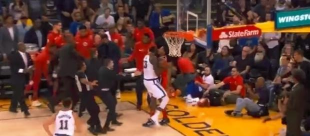 Draymond Green and Bradley Beal fight - Image - Ximo USA | YouTube
