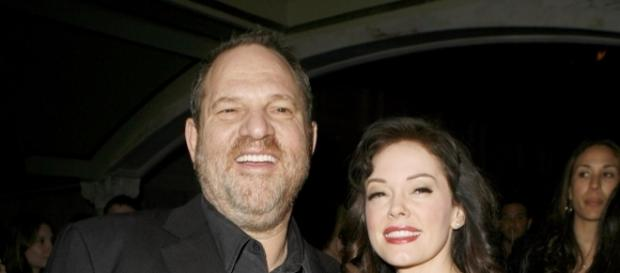 Rose Mcgowan et Harvey Weinstein
