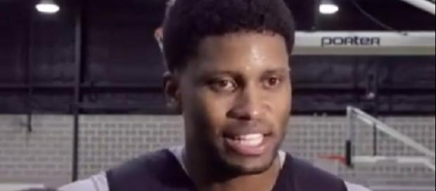 Rudy Gay is averaging 12 points and four rebounds per game this season (Image Credit: Han Bui/YouTube)