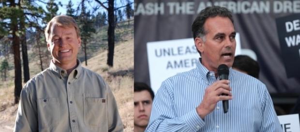 Sen. Dean Heller (R-NV), Danny Tarkanian (candidate) / [Image credit: Dean Heller, Gage Skidmore/Flickr]