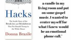 Donna Brazile, author of 'Hacks,' comes out with fists flying