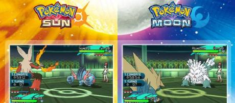 """Pokémon Ultra Sun"" and ""Pokémon Ultra Moon"", upcoming games/photo via https://www.facebook.com/Pokemon/"