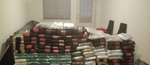 A cache of fentanyl seized by authorities last month. [Image Credit: New York Special Prosecutors Office]